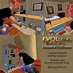 Animated Doll House Ad 512