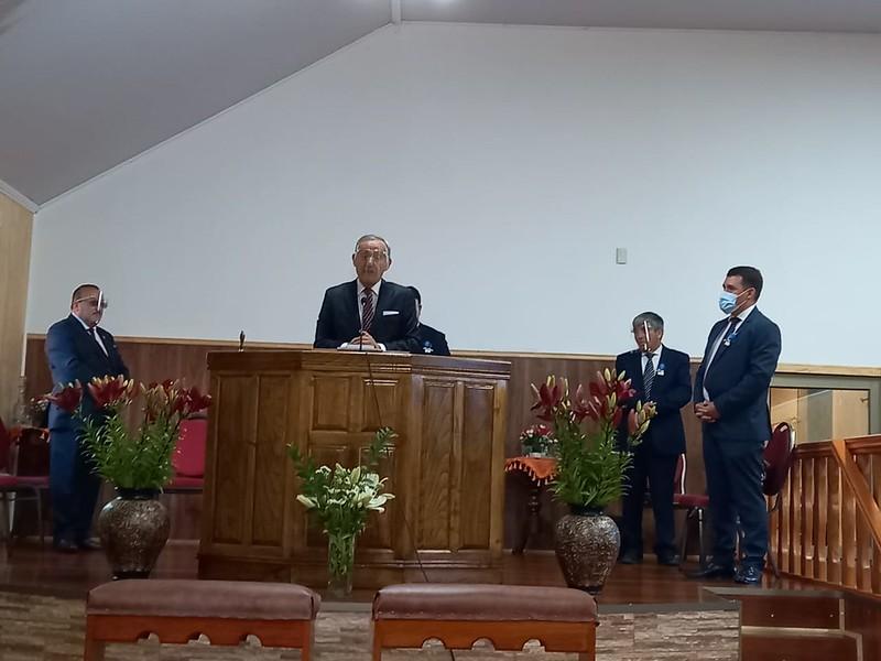Presentación Pastores Iglesia de Ercilla