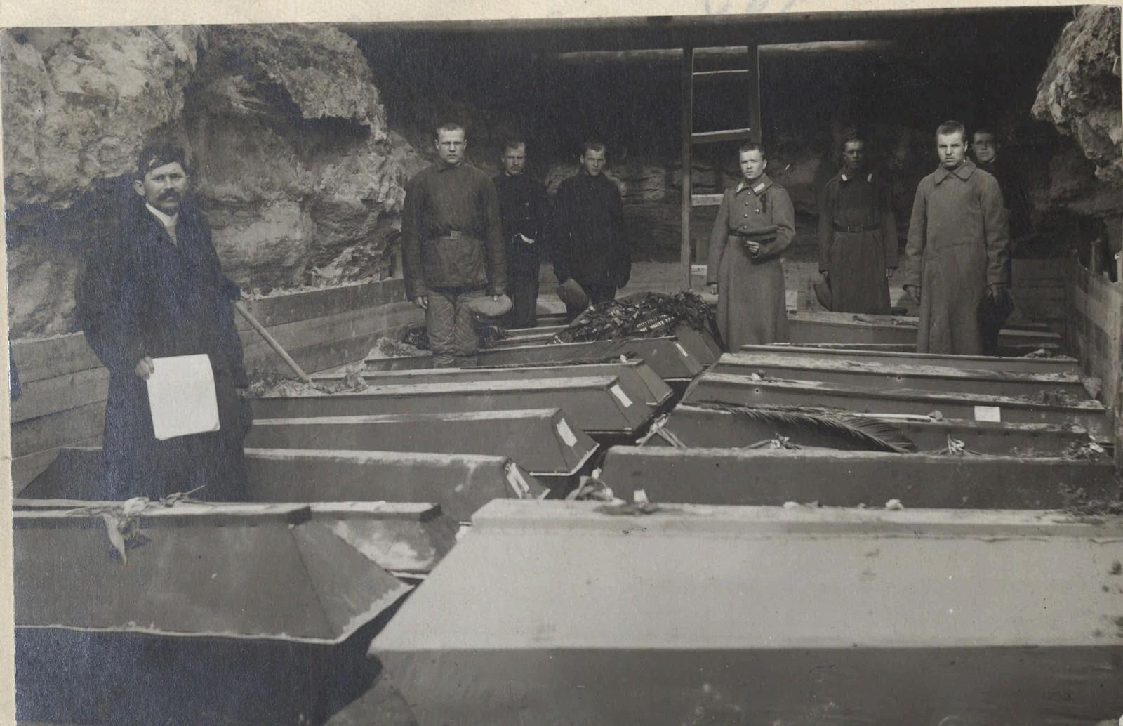 1917. Похороны жертв революции