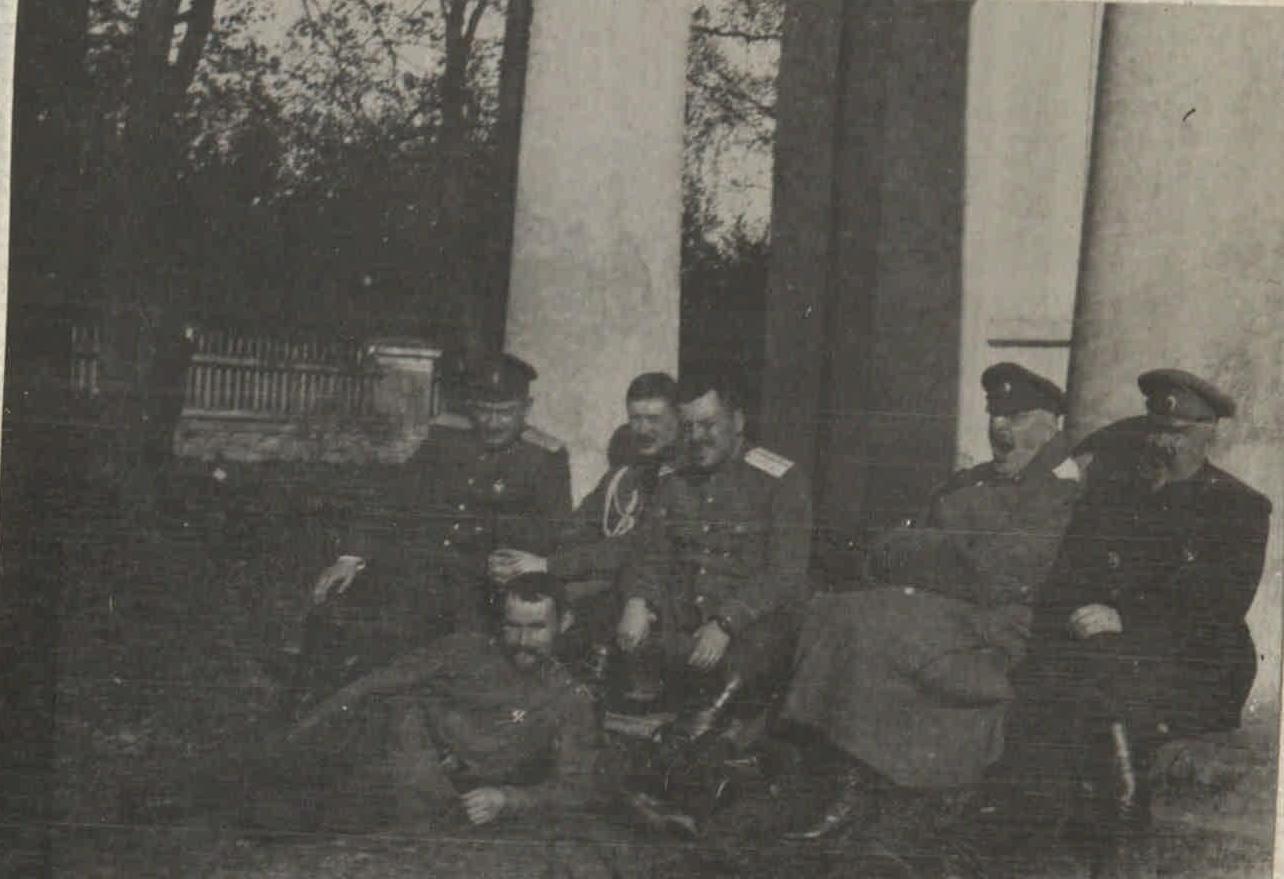 1917. Быховское пленение генералов. Заключенные (3)