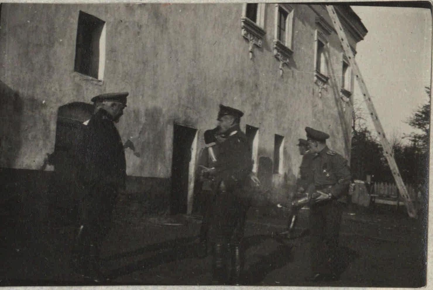 1917. Быховское пленение генералов. Заключенные