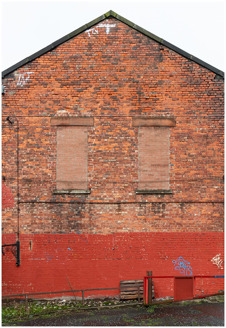 Gable End of Building, Glasgow