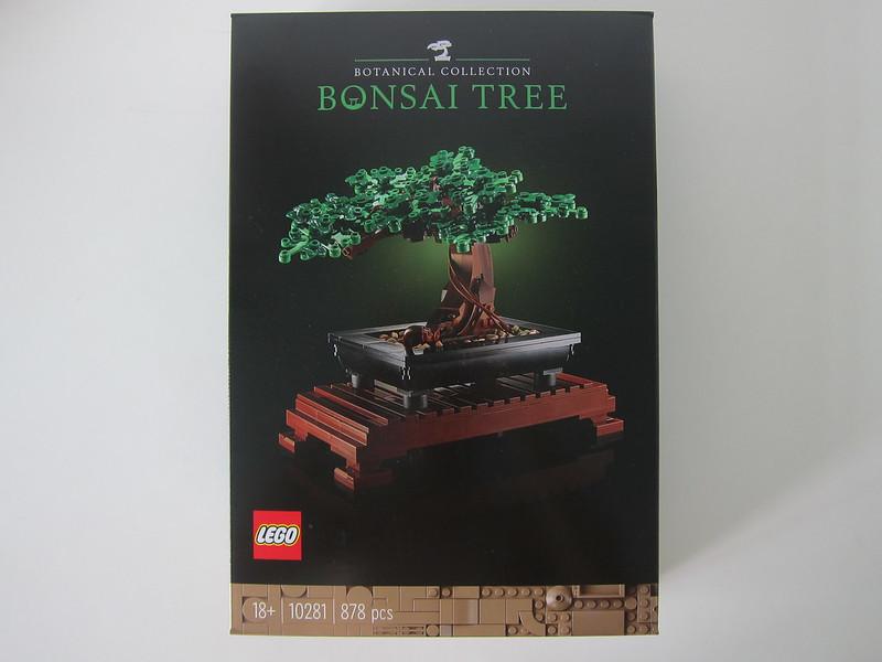 LEGO Bonsai Tree 10281 - Box Front