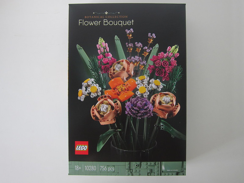 LEGO Flower Bouquet 10280 - Box Front