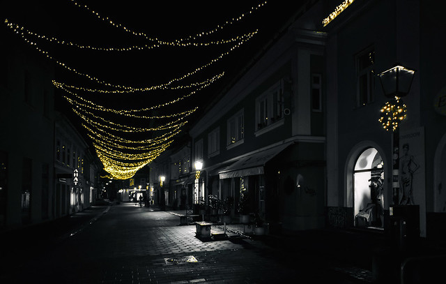 This path of lights is taking me home