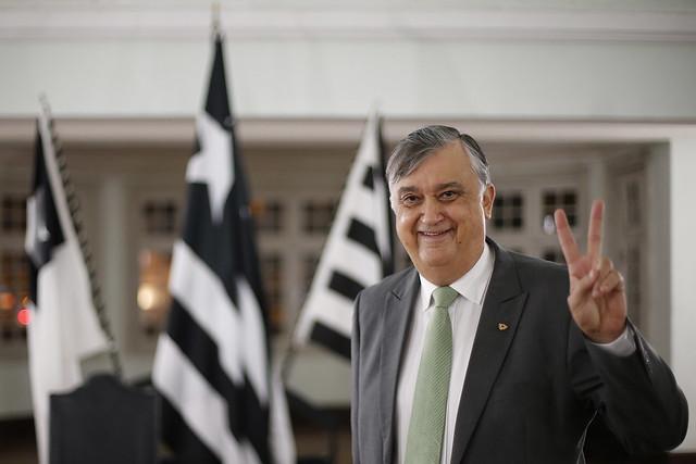Sessão solene de posse presidencial do Botafogo - 04/01/2021