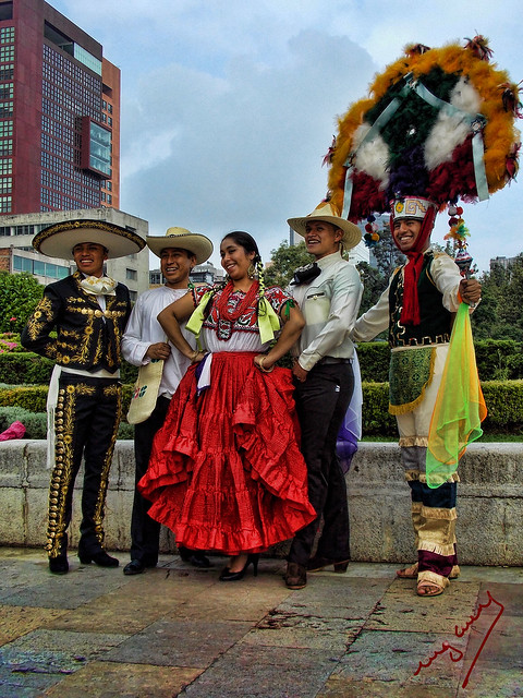 regional costumes Mexico