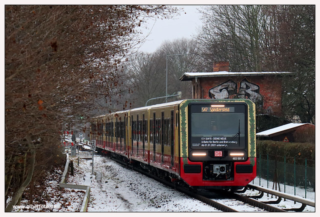 S-Bahn Berlin - 2021-01