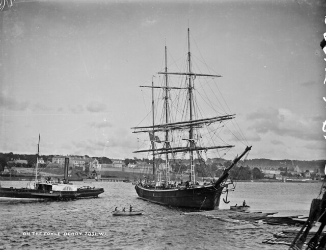 Sail and steam on the Foyle