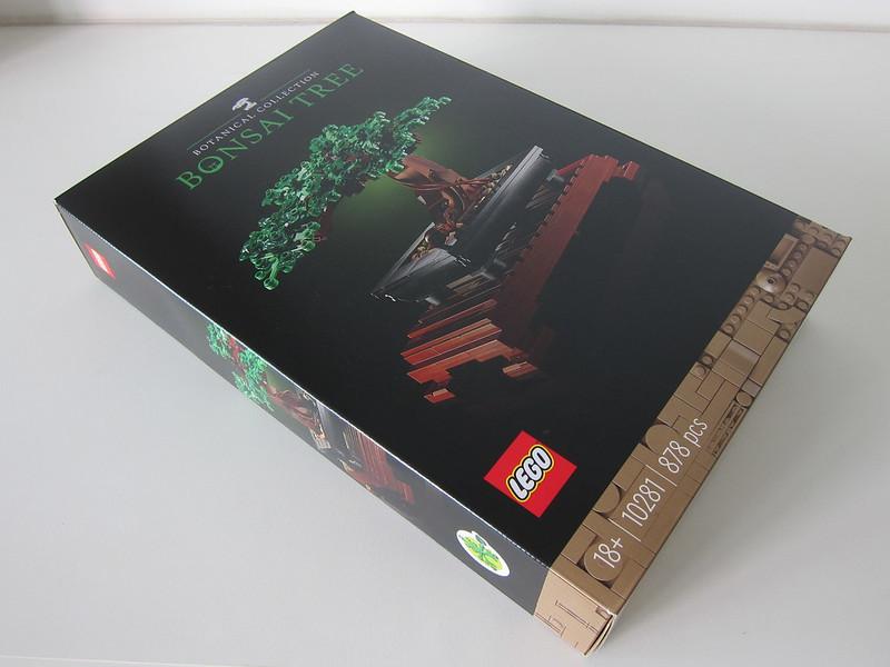 LEGO Bonsai Tree 10281 - Box