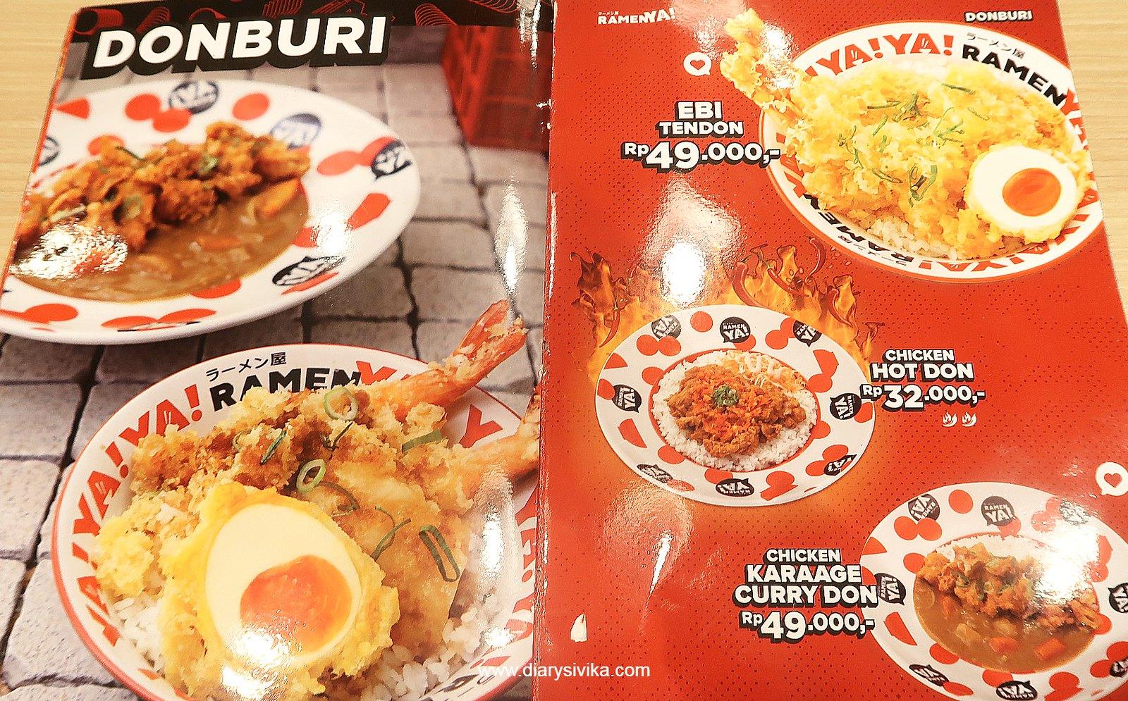 menu ramenya