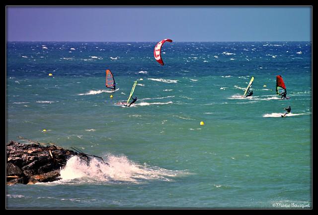 Jour de glisse en Méditerranée