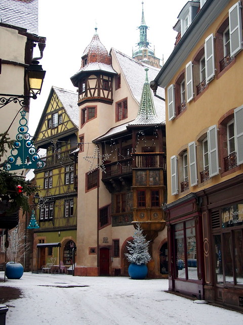 rue des marchands (Colmar, F)