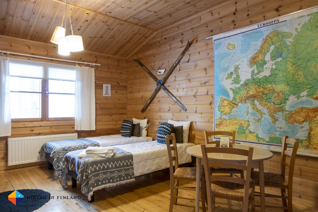 My Cabin at the 7 Fells Hostel