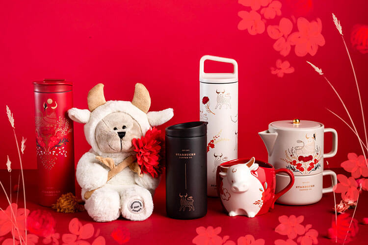 Starbucks Year of the Ox merchandise collection
