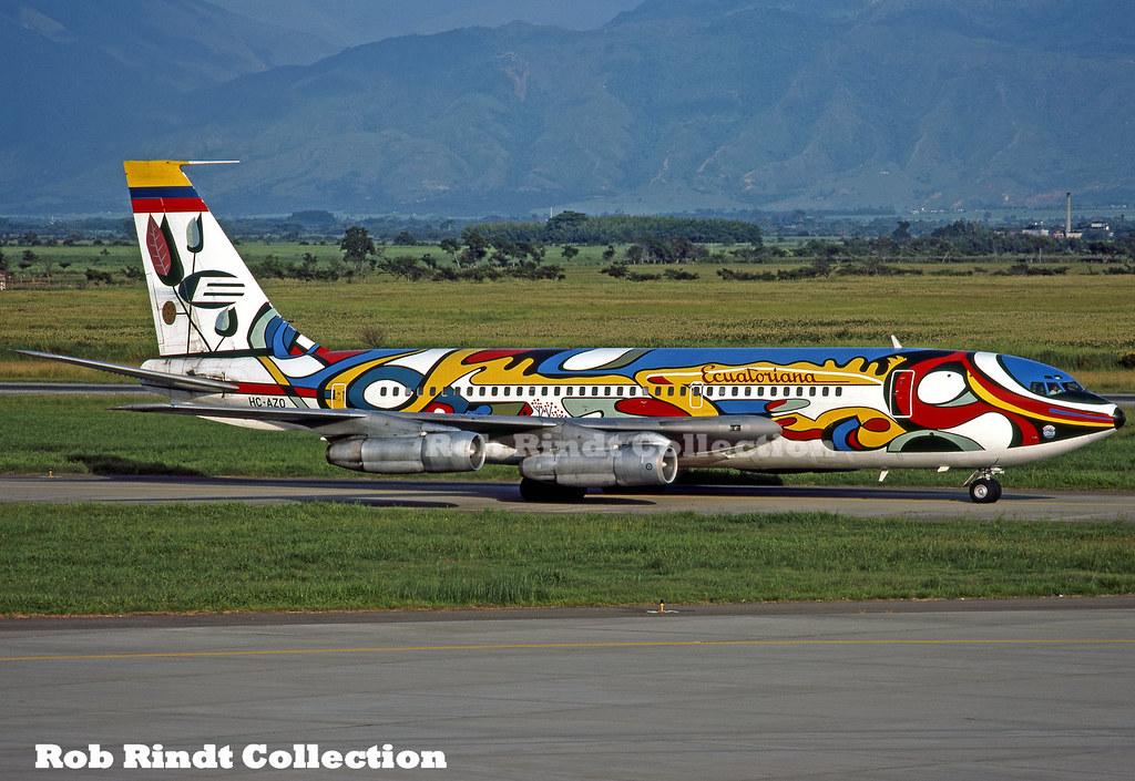 Ecuatoriana B720-023B HC-AZQ