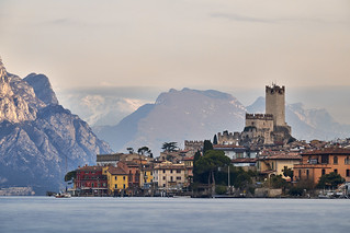Malcesine - a village between mountains