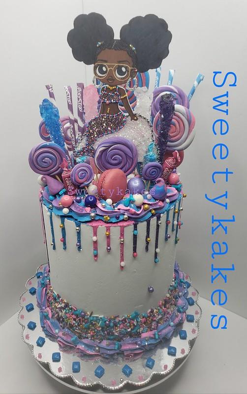Sweet Mermaids Cake by Shoshana Mabine
