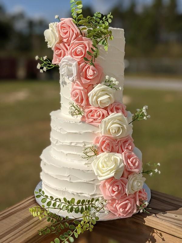 Cake by LaToya Wade of Wade Cakes and Weddings, LLC