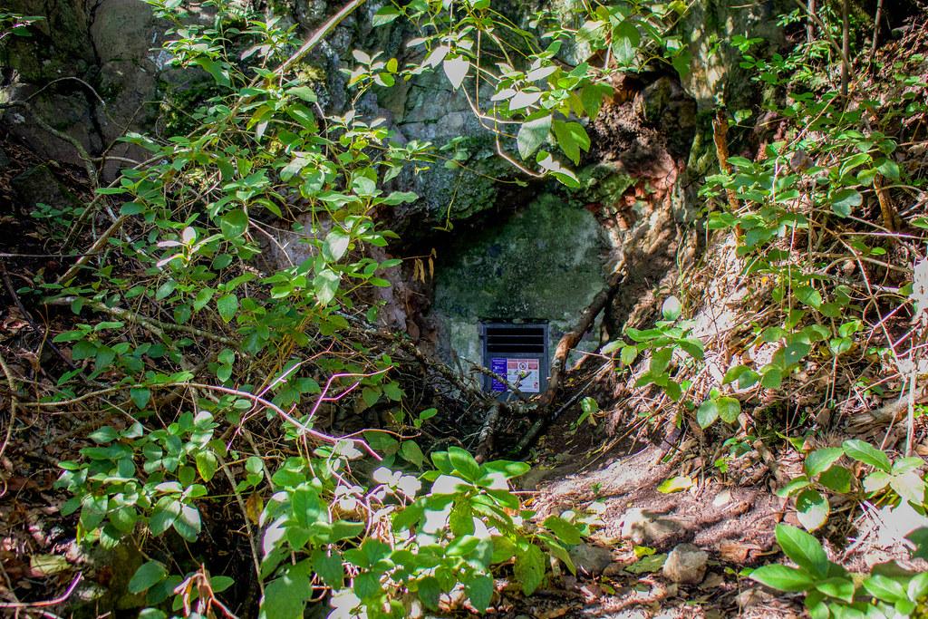 Galería de agua en el Monte de Aguirre