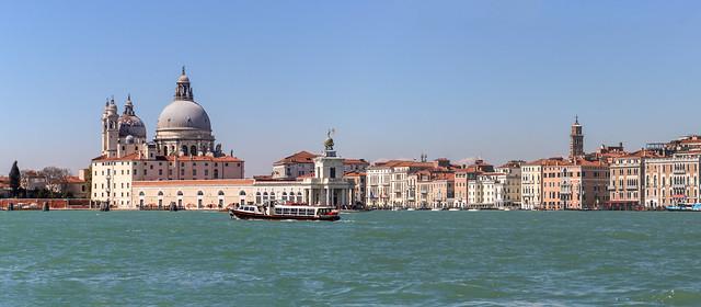 Panorama of Venice from San Giorgio Maggiore, Venice, Italy
