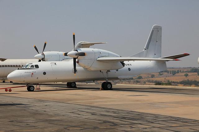 ZS-OWX, Antonov An-32B Valan International Cargo Charter @ Lanseria HLA FALA