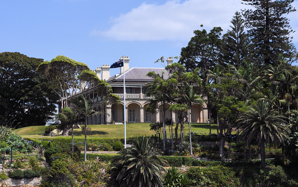 Admiralty House, Kirribilli, Sydney, NSW.