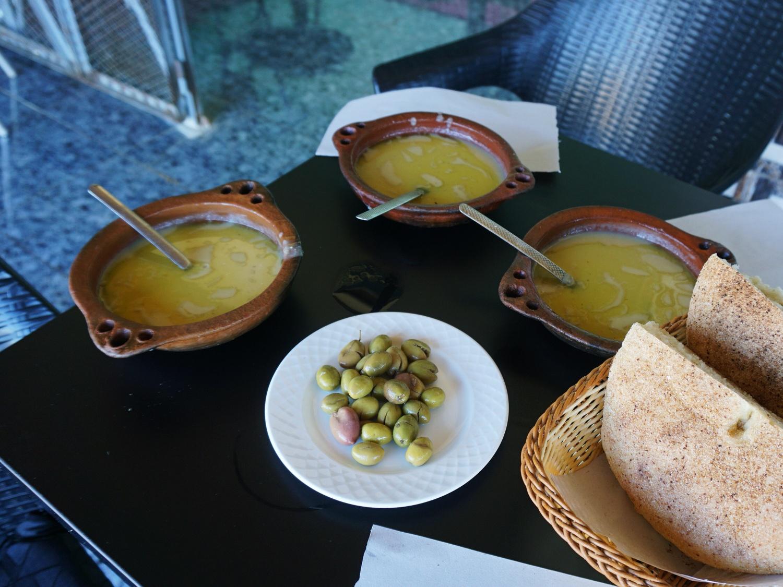 Bsarra soup