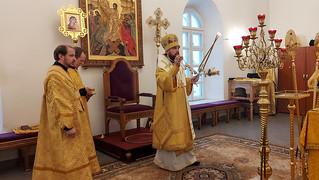 03.01.2021 | Божественная литургия в Юрьевом монастыре