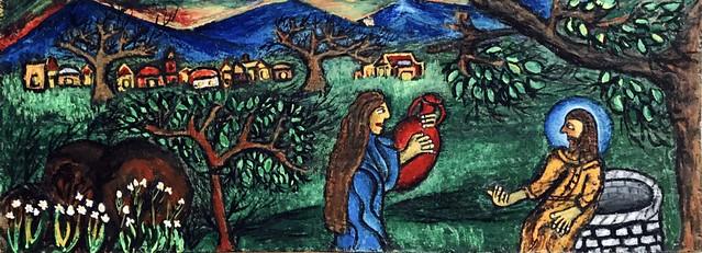 'Samaritan woman at the well'