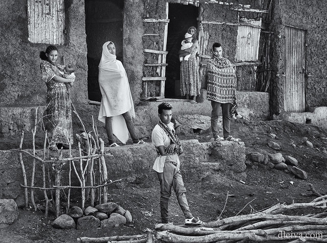 On the road of Ethiopia 2020: In the way from Simien Mountain to Axum