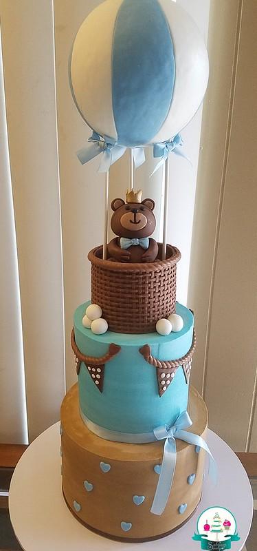 Hot Air Balloon Cake by Sabrina Hunter