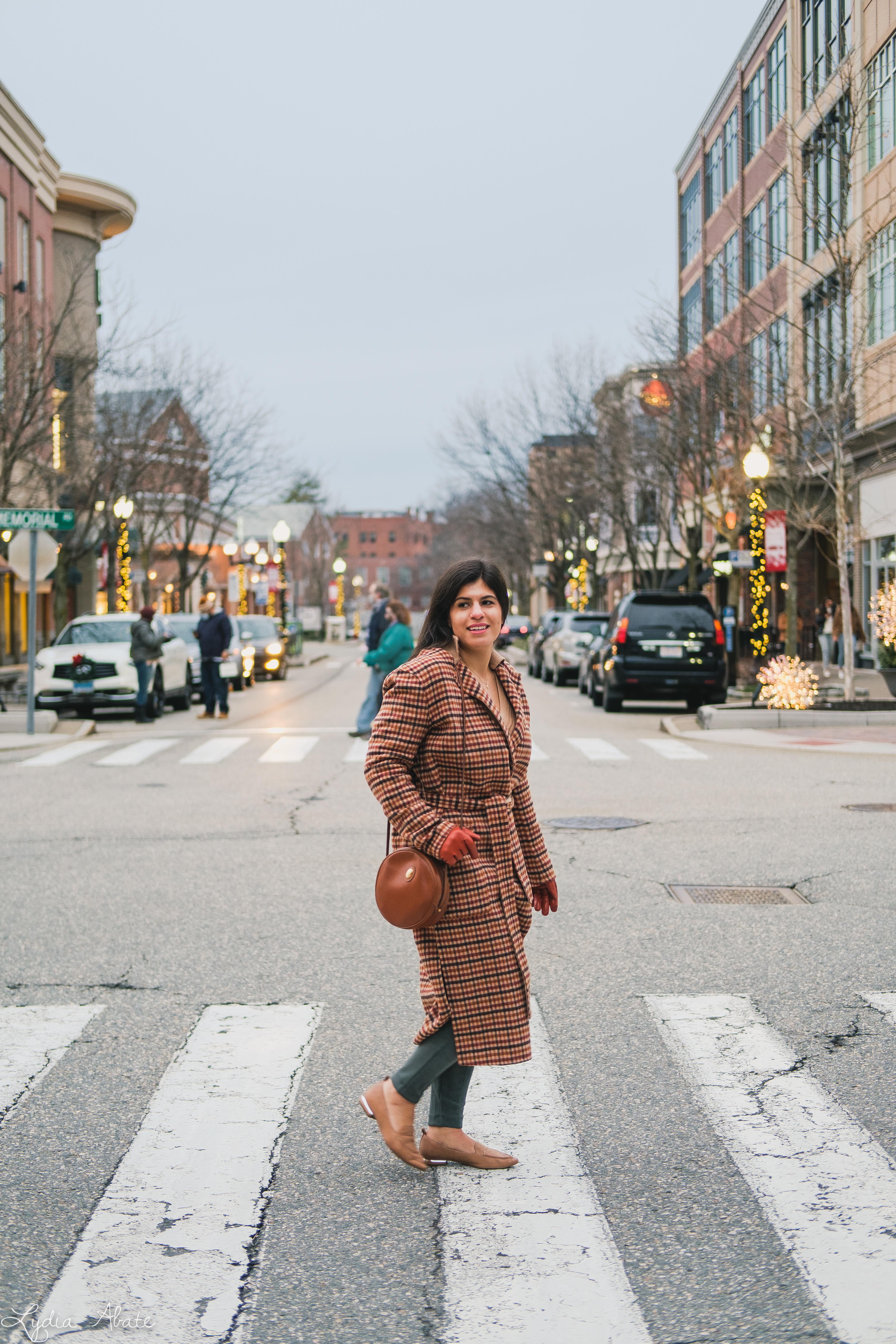 plaid reversable coat, suede leggings, round bag, camel sweater-7.jpg