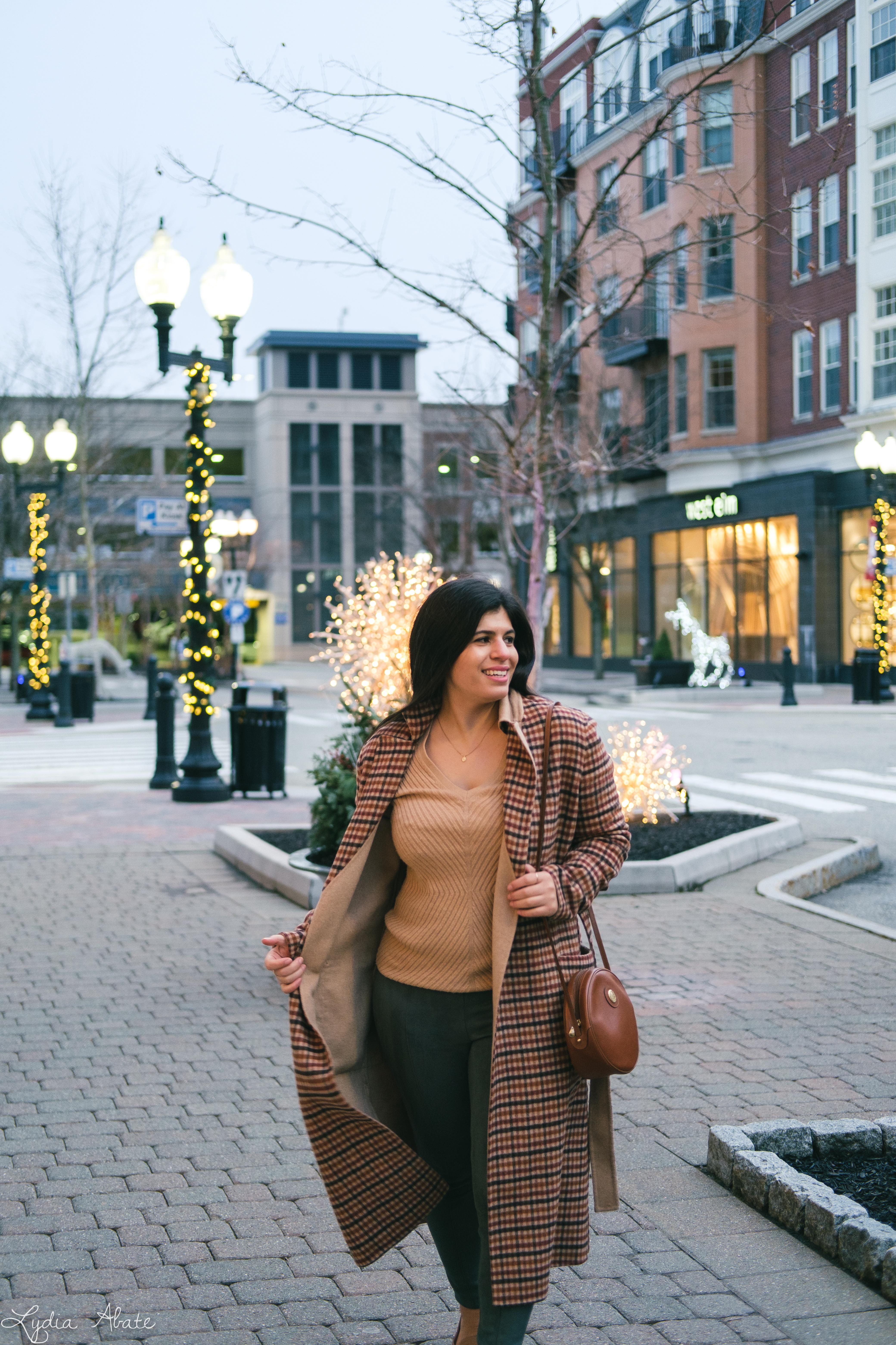plaid reversable coat, suede leggings, round bag, camel sweater-8.jpg