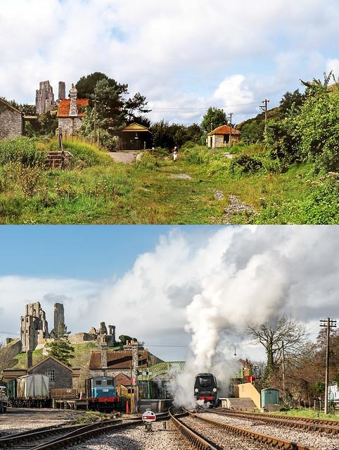Corfe Castle Railway Renaissance
