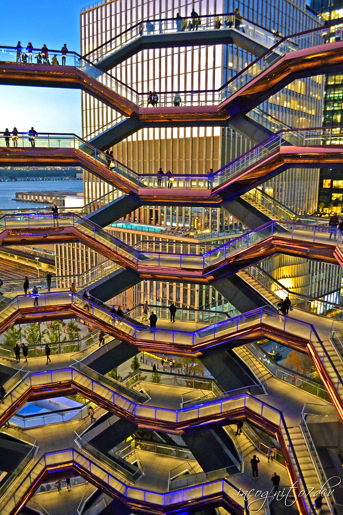 The Vessel at Hudson Yards Manhattan New York City NY P00763 DSC_2523