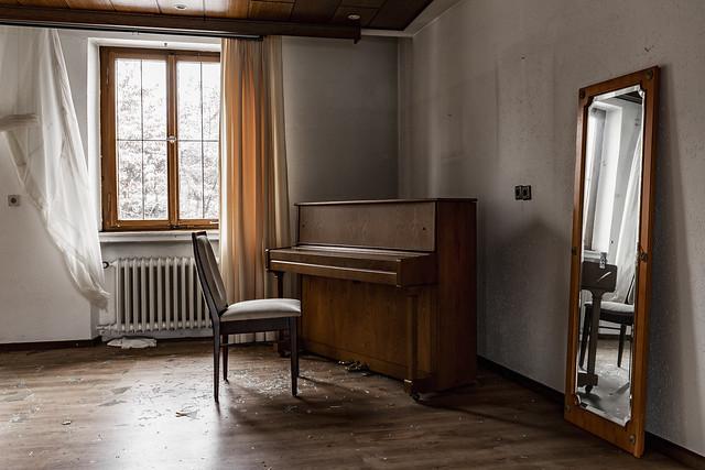 Der Mann am Klavier spielt nicht mehr