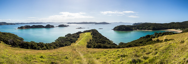 Bay of Islands panorama