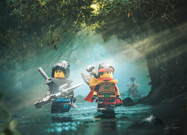 What if Ninjago and Monkie Kid joined forces