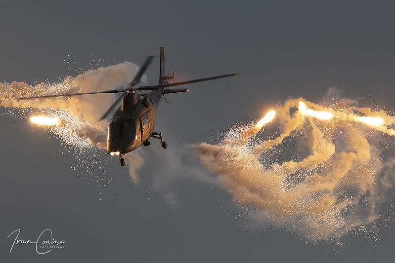 Agusta A-109HA (A-109BA) – Belgium-Air Force – H29 – Leopoldsburg-Beverlo (EBLE) – 2019 09 13 – Inflight – 01 – Copyright © 2019 Ivan Coninx