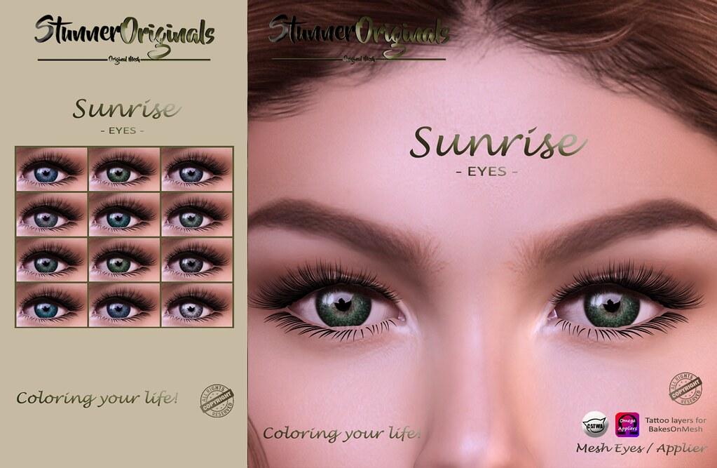 .:: SO ::. Fatpack Eyes Sunrise