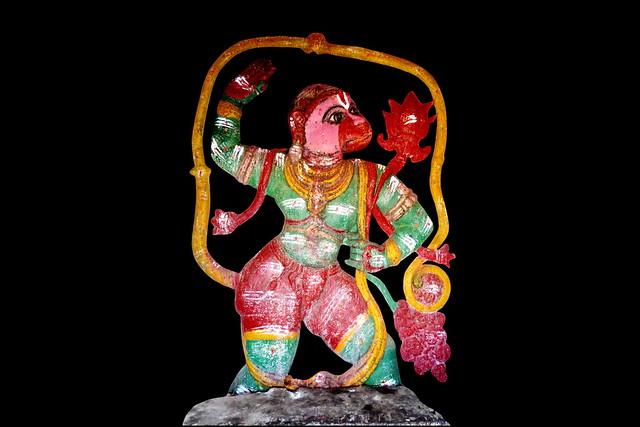 India - Karnataka - Hampi - Hanuman - 1d