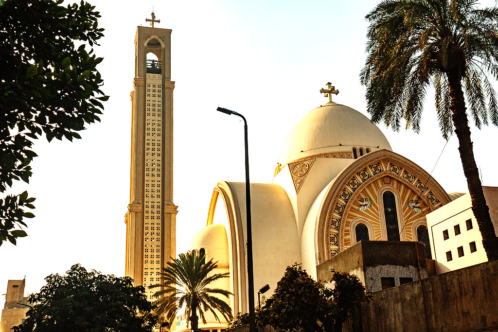 St. Mark's Coptic Orthodox Cathedral on 1-5-21--Cairo