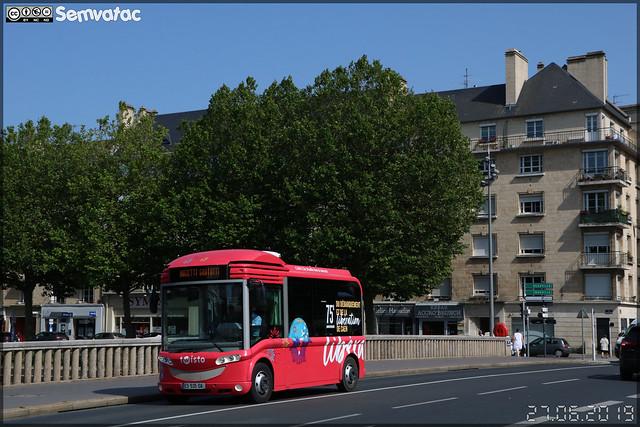Bolloré Bluebus 6 mètres – Keolis Caen Mobilités / Twisto n°65
