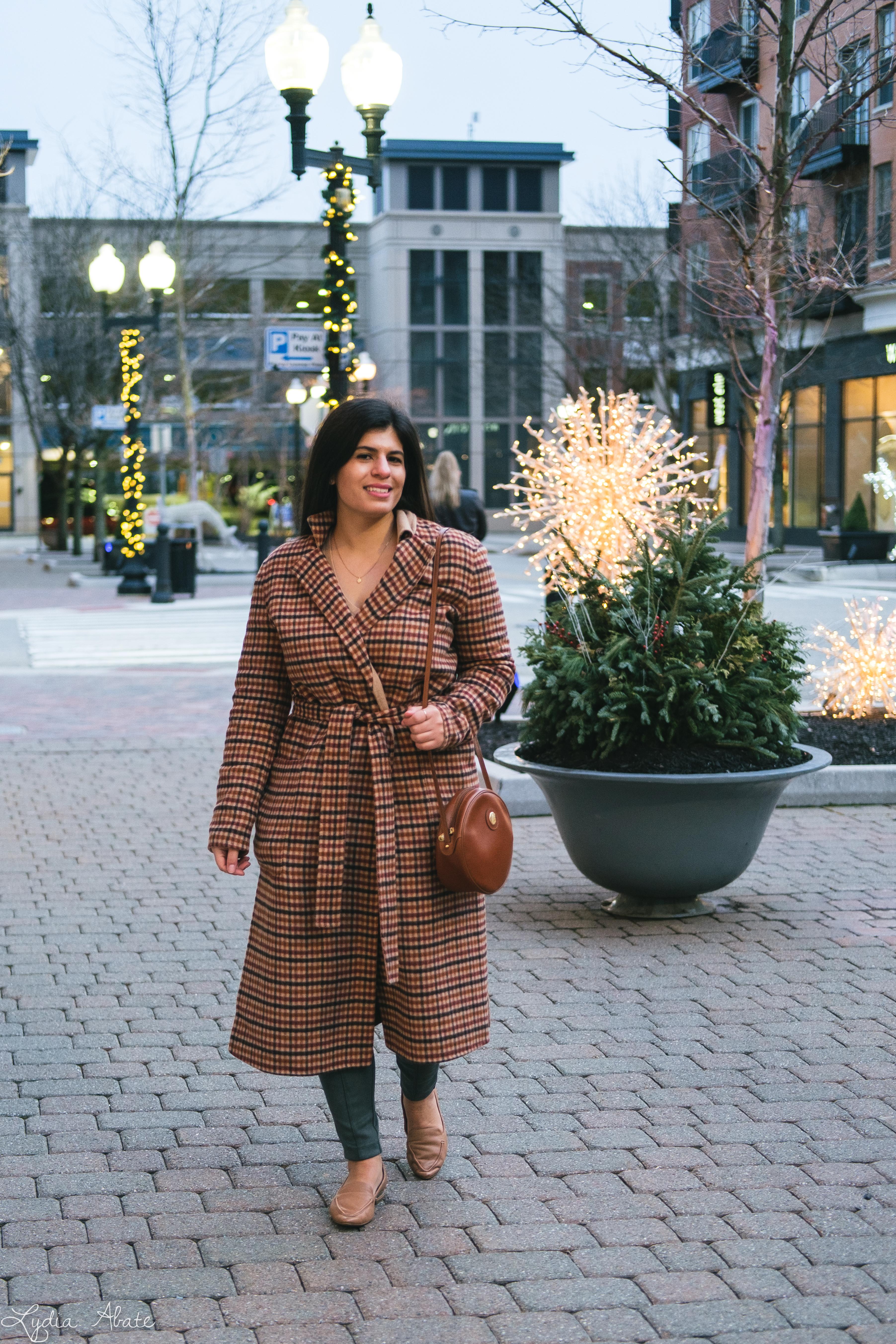 plaid reversable coat, suede leggings, round bag, camel sweater-10.jpg