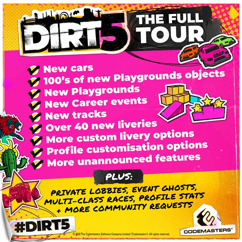 Dirt 5 2021 updates