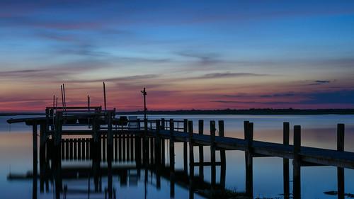 brigantine newjersey jerseyshore dock pier sunrise longexposure
