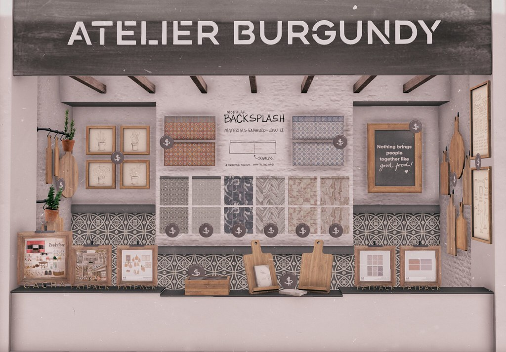 Atelier Burgundy @ The Food Court