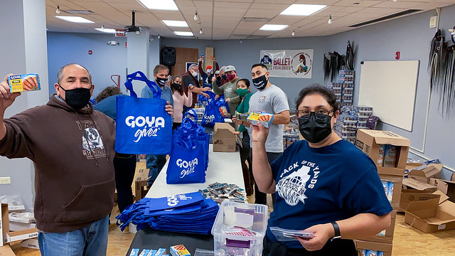 2020 Prep Christmas Food Distribution Goya