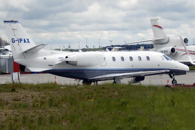 G-IPAX  -  Cessna 560XL Citation Excel c/n 560-5228  -  LTN/EGGW 3/5/15